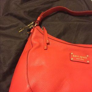 Kate Spade - Bright Red/Orange - Bucket Bag